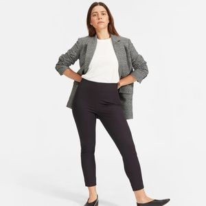 Everlane The Curvy Side-Zip Stretch Cotton Pant 00